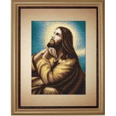 G306 Мольба Иисуса. Набор для вышивки нитками Luca-s