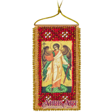 АВО-001 Молитва Ангелу-хранителю. Набор для вышивки бисером Абрис Арт