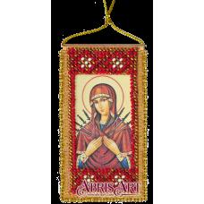 АВО-002-01 Молитва о сохранении дома (укр). Набор для вышивки бисером Абрис Арт