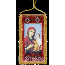 АВО-003 Молитва к Божией матери о детях. Набор для вышивки бисером Абрис Арт