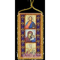 АВО-004-01 Молитва водителя (укр). Набор для вышивки бисером Абрис Арт