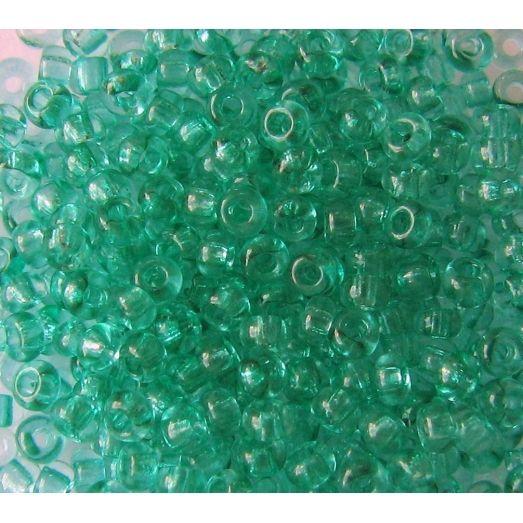 01164 Бисер прозрачный, зеленый ближе к бирюзовому Бисер Preciosa