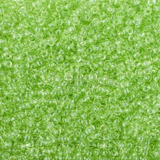 01254 Салатовый прозрачный Бисер Preciosa