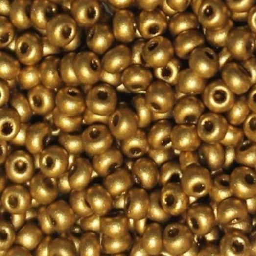01720 Желто-коричневый металлик, непрозрачный Бисер Preciosa