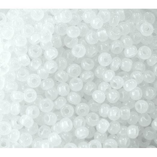 02090 Бисер непрозрачный, белый (снег) Бисер Preciosa