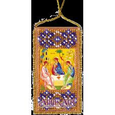 АВО-008 Молитва Пресвятой Троице. Набор для вышивки бисером Абрис Арт