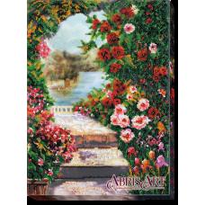 АВ-482 Летний сад. Набор для вышивки бисером. Абрис Арт