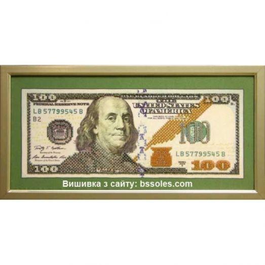 100-д Набор для вышивки бисером 100 Долларов. БС Солес