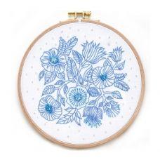 ВК-1001 Цветы. Набор для вышивки нитками ТМ ВДВ