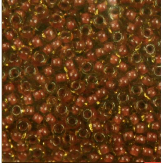 10029 Коричнево-желтый прозрачный Бисер Preciosa