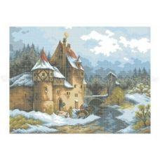 10-209 (40*60) Замок. Схема для вышивки бисером Бисерок