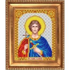 И-5118 Святой Благоверный Князь Роман Рязанский. Схема для вышивки бисером Благовест
