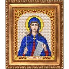 И-5119 Святая Мученица Юлия. Схема для вышивки бисером Благовест