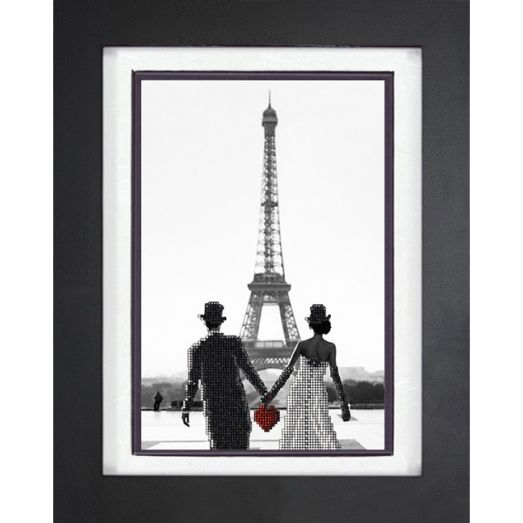 10218 Париж 1. Набор для вышивки бисером Краса и творчество