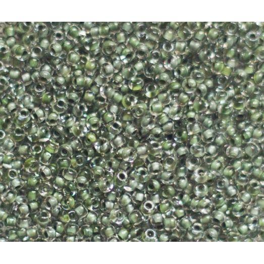 38059 Бисер Preciosa стеклянный хамелеон травяной