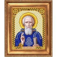 И-5121 Святой Преподобный Сергий Радонежский. Схема для вышивки бисером Благовест
