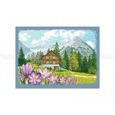 10-342 (30*40) В горах. Схема для вышивки бисером Бисерок