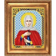 И-5122 Святая Пророчица Анна. Схема для вышивки бисером Благовест