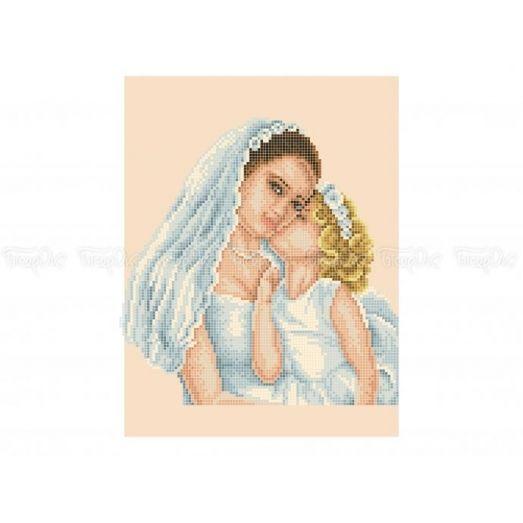 40-417 (20*25) Невеста. Схема для вышивки бисером Бисерок
