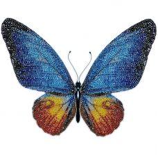 М-11017 Голубая бабочка. Набор для вышивки бисером ТМ Miniart Crafts