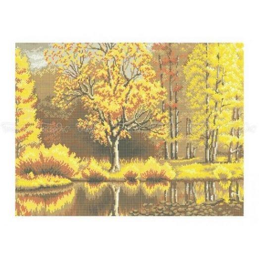 10-208 (40*60) Осенние краски. Схема для вышивки бисером Бисерок