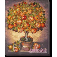 АВ-475 Гранатовое дерево. Набор для вышивки бисером. Абрис Арт