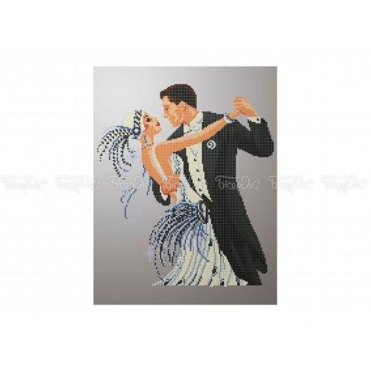 40-302 (30*40) Танец. Схема для вышивки бисером Бисерок