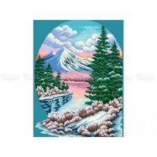 10-354 (30*40) Зима. Схема для вышивки бисером Бисерок