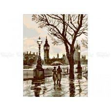 10-356 (30*40) Прогулка по Лондону. Схема для вышивки бисером Бисерок