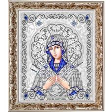 ЖС-4011 Пресвятая Богородица Семистрельная. Схема для вышивки бисером Благовест