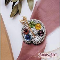 AD-023 Набор для вышивки бисером украшения на натуральном художественном холсте