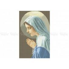 20-303 (30*40) Святая Анна. Схема для вышивки бисером Бисерок