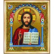 Б-1203 Икона Господа Вседержителя. Набор для вышивки бисером Чаривна Мить