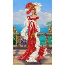 КБ-2020 Венецианская дама. Схема для вышивки бисером ТМ Каролинка