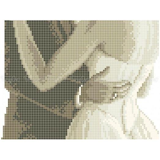 40-406 (20*25) Первый танец. Схема для вышивки бисером Бисерок