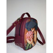 М1С1 (цвет) Сумка-рюкзак для вышивки бисером. ТМ ЮМА