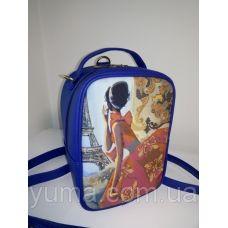 М1С3 (цвет) Сумка-рюкзак для вышивки бисером. ТМ ЮМА