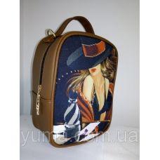 М1С6 (цвет) Сумка-рюкзак для вышивки бисером. ТМ ЮМА