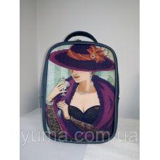 М1С8 (цвет) Сумка-рюкзак для вышивки бисером . ТМ ЮМА