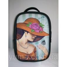 М1С9 (цвет) Сумка-рюкзак для вышивки бисером. ТМ ЮМА