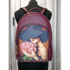 М2С1 (цвет) Сумка-рюкзак для вышивки бисером. ТМ ЮМА