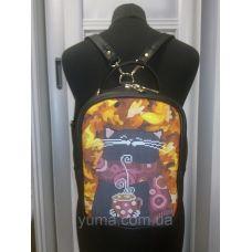 М1С11 (цвет) Сумка-рюкзак для вышивки бисером. ТМ ЮМА