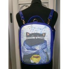 М1С13 (цвет) Сумка-рюкзак для вышивки бисером. ТМ ЮМА