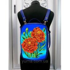 М1С15 (цвет) Сумка-рюкзак для вышивки бисером. ТМ ЮМА
