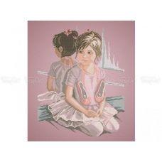 40-214 (40*60) Балерина. Схема для вышивки бисером. Бисерок
