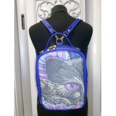 М1С16 (цвет) Сумка-рюкзак для вышивки бисером. ТМ ЮМА