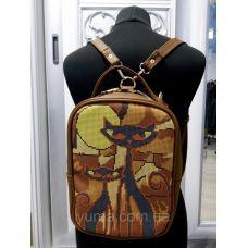М1С17 (цвет) Сумка-рюкзак для вышивки бисером. ТМ ЮМА