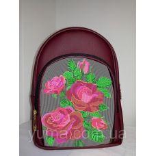 М2С10 (цвет) Сумка-рюкзак для вышивки бисером. ТМ ЮМА
