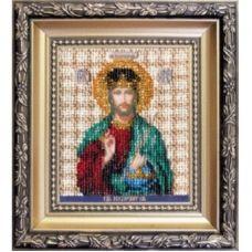 Б-1119 Икона Господа Иисуса Христа. Набор для вышивки бисером Чаривна Мить
