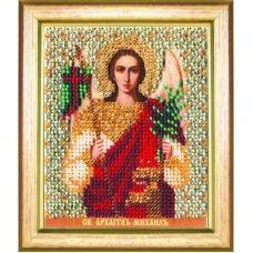 Б-1148 Икона св. архангела Михаила. Набор для вышивки бисером Чаривна Мить